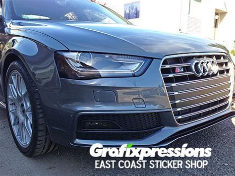 audi headlights in dark headlight reflector overlays for audi b8 5 s4 a4 s line
