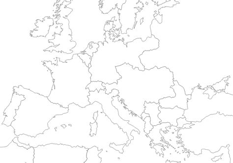 printable map europe 1914 1914 outline map of europe wwi pinterest wwi and