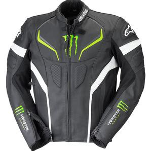 Monster Aufkleber Louis by Alpinestars Monster Shadow Lederjacke Kaufen Louis