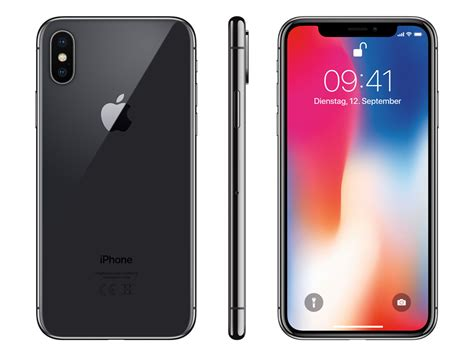 Iphone X Spacegrau Rahmen Polieren by Apple Iphone X 256 Gb Space Grau Kaufen Im