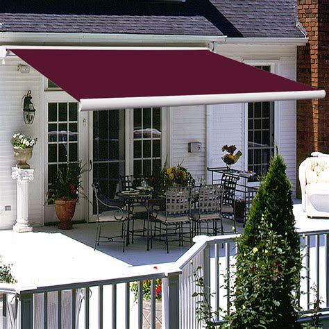 retractable awnings ebay 4x3m full cassette electric patio garden awnings canopy