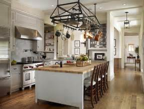 kitchen island pot rack lighting source huryn construction amazing kitchen with wrought