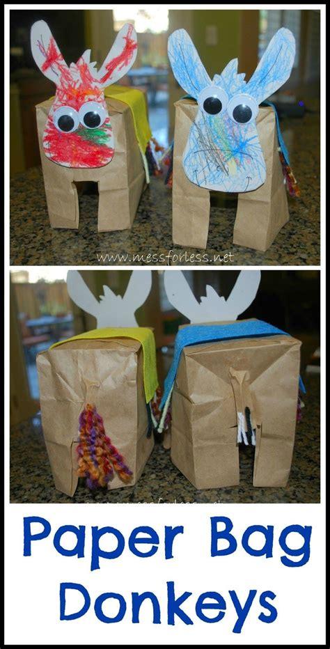 easter paper bag crafts paper bag donkeys crafts for crafts bags