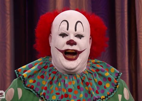 of a clown a clown went on conan to protest negative stereotypes in it