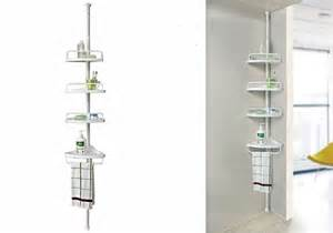 telescopic bathroom shelf adjustable corner shower shelf