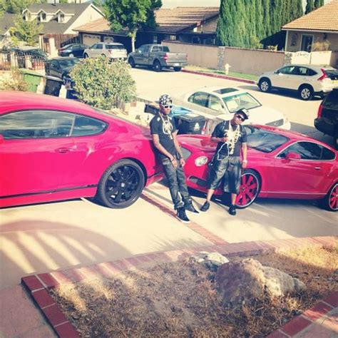 soulja boy house soulja boy shows off his red bentley lineup celebrity