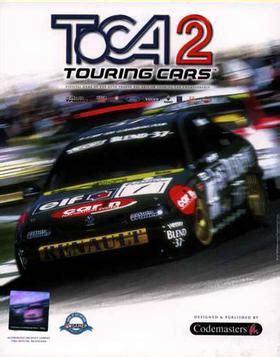 toca  touring cars wikipedia
