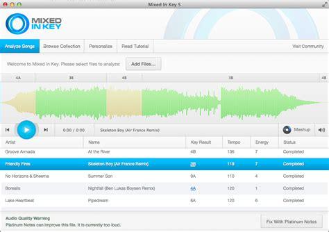 Software Mix Mixer Musik Mixed In Key 7 mixed in key 5 5 helps you dancefloor energy digital dj tips
