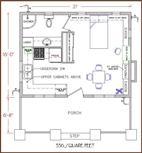 tiny house floorplan the simple life bungalow