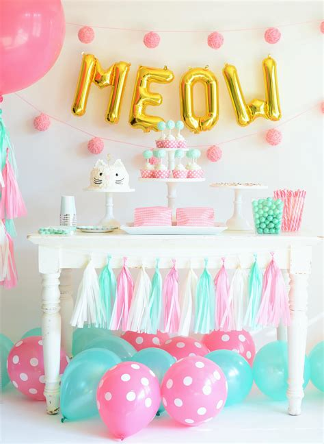 themes for a kitty party how to throw the purr fect kitten party project nursery