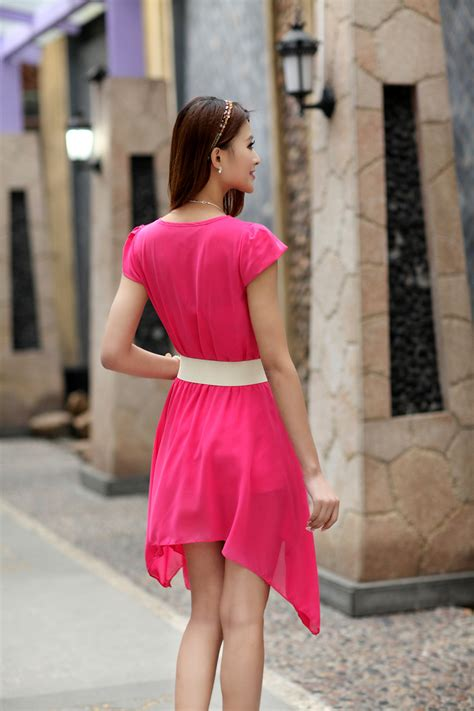 Dress Sifon Murah dress sifon korea cantik model terbaru jual murah