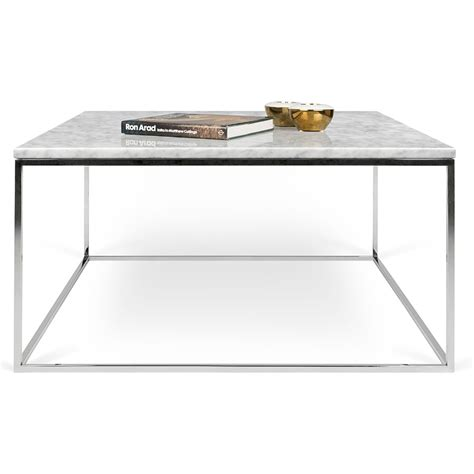 white and chrome desk gleam white marble chrome coffee by temahome eurway
