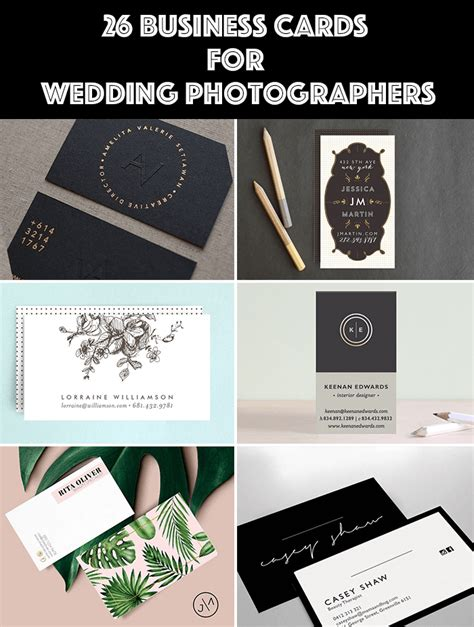 wedding photography business cards templates 26 wedding photographer business cards templates that