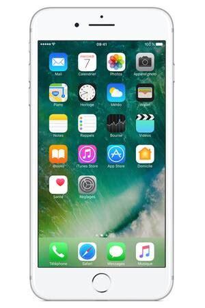 iphone apple iphone 7 plus 32go argent iphone 7 plus darty
