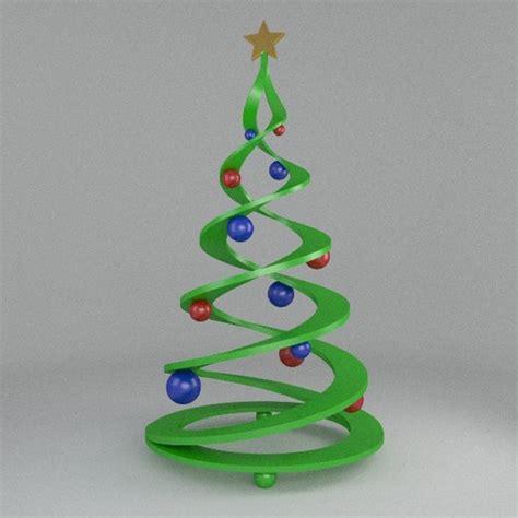 printable christmas decorations 3d 3d printable christmas tree cgtrader