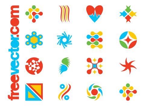 vector imagenes com colorful logo templates vector art graphics freevector com