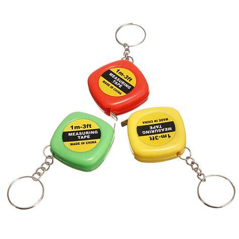 mini 3 colors 3 colors mini keychain easy retractable measure pull