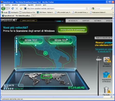 test di velocita adsl test velocit 224 adsl chiccheinformatiche