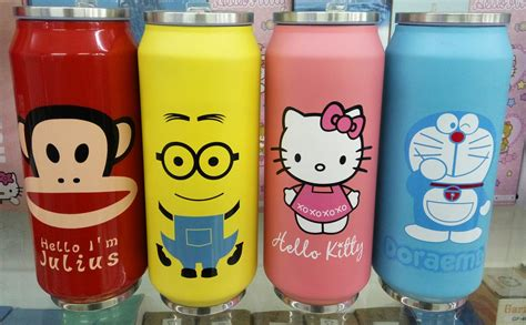 Diskon Termos Karakter 500ml jual beli termos stainles kaleng karakter 500ml baru peralatan rumah tangga murah