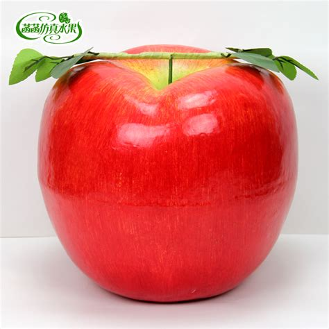 Buy 1 Get 1 Promo Apple Learning Qu Ran promotional large size home decoration simulation foam solid apple fruits children toys