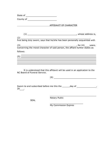 Character Affidavit Sle Pdf By Smo71832 Affidavit Of Character Real State Pinterest Affidavit Template Pdf