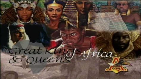 king and queens before slavery great kings and queens of africa youtube