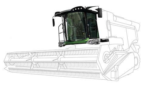 brieda cabine cabina per trattore mietitrebbiatrice