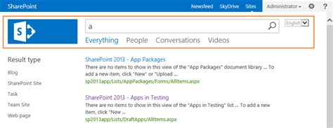 sharepoint 2013 top navigation bar css display the top navigation in the search centers of