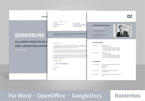 Bewerbungbchreiben Muster Openoffice Bewerbung Muster Vorlagen Bewerbungsprofi Net