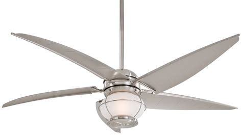 contemporary ceiling fans brushed nickel new modern minka aire magellan ceiling fan f579 bnw in