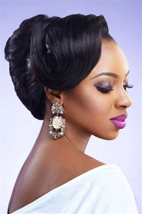 17 best ideas about black wedding hairstyles on updos for black hair black wedding