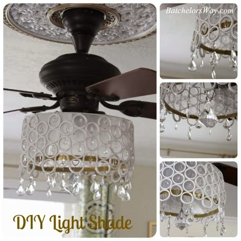 Ceiling Fan Chandelier Diy Batchelors Way Diy Ceiling Fan Chandelier