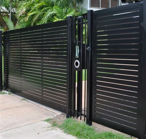 minimalist fence designs ideas fence aluminium garden design ideas 46 best images about gate design on iron gates fence design and sliding