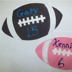 football craft projects preschool crafts for football name plaque sports craft
