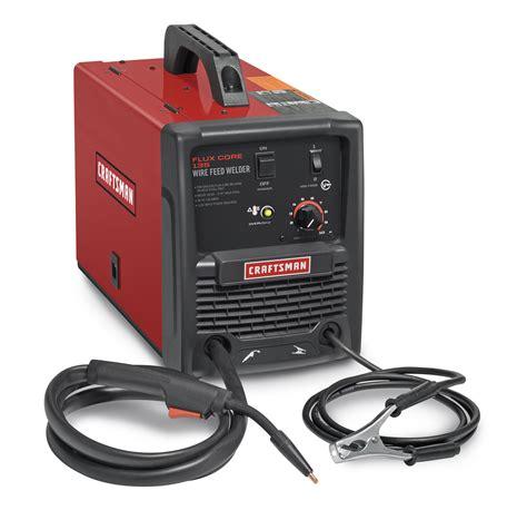 lincoln 135 mig craftsman flux 135 gasless wire feed welder