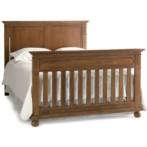 Brown Cribs For Babies Dolce Babi Naples Panel Convertible Crib In Harvest Brown
