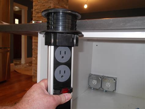 power grommets in kitchen islands design build pros