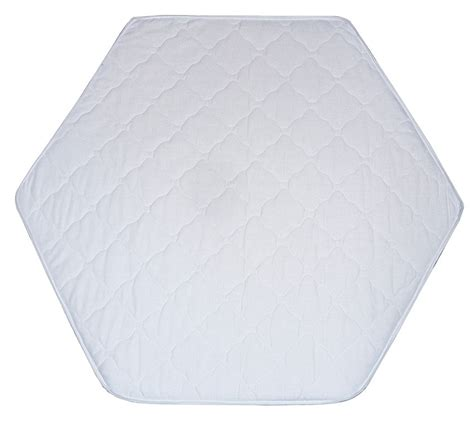 matratze für 6 eck laufgitter laufgitter einlage matratze weiss f 252 r 6 eck laufstall ebay