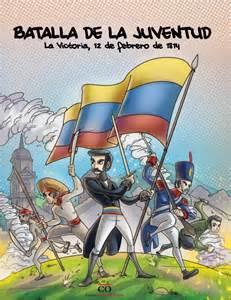 dibujo de la batalla de carabobo 1814 batalla de la juventud