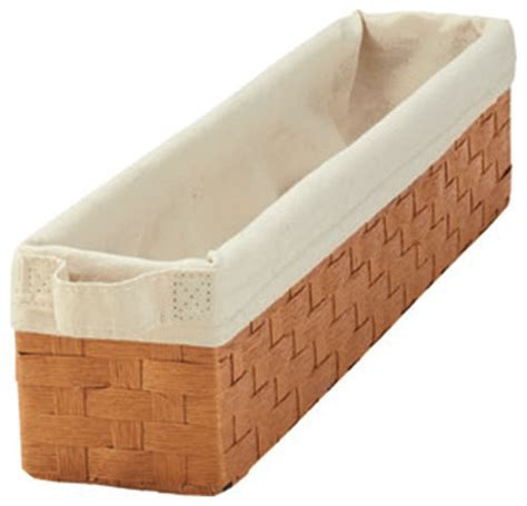 rev a shelf woven basket with rails in standard size kitchensource com rev a shelf woven basket contemporary baskets by