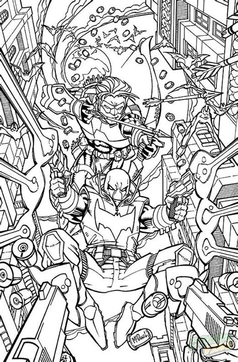 coloring dc 25 dc comics coloring book variant covers revealed ign
