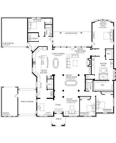 unique grand homes floor plans new home plans design
