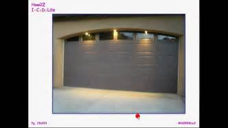 solar garage lights garage accent lights