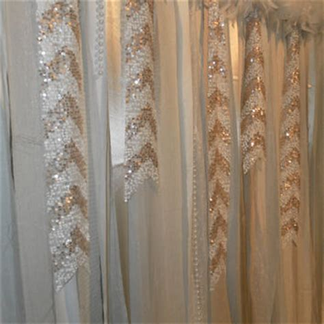 curtains with sequins gatsby garland backdrop photo prop from changesbyneci