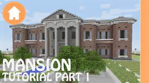 build a mansion minecraft tutorial how to build a mansion in minecraft 1 youtube