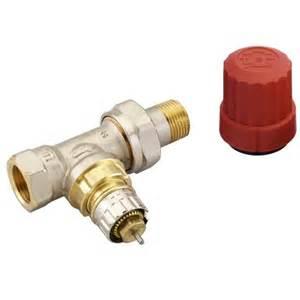 robinet thermostatique pour radiateur avec droit