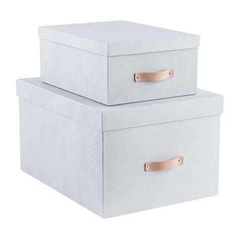 Storage Box bigso grey woodgrain storage boxes the container store