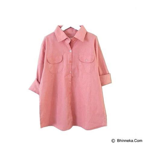 Baju Wanita Dusty Atasan Wanita Blouse Pink jual modenesia shirt dove dusty pink merchant murah bhinneka