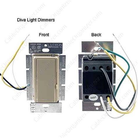diva light dimmers  lutron cableorganizercom