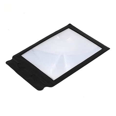 full page magnifier with light full page magnifier